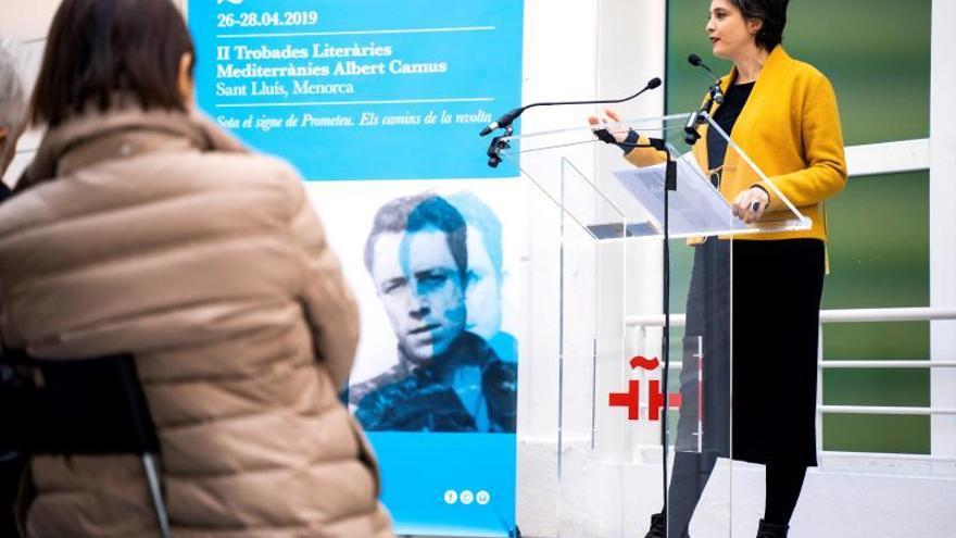 """Menorca actualiza la obra de Camus en unos """"rebeldes"""" encuentros literarios"""