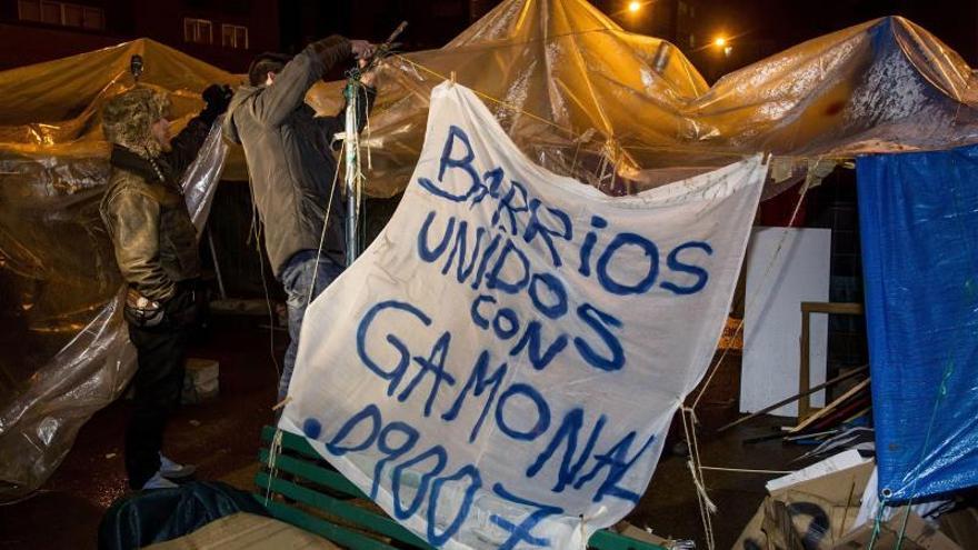Las manifestaciones de Gamonal fueron ignoradas cuando no había disturbios.