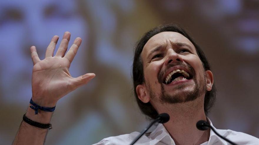 Pablo Iglesias, candidato a la presidencia por Podemos / Foto: Europa Press