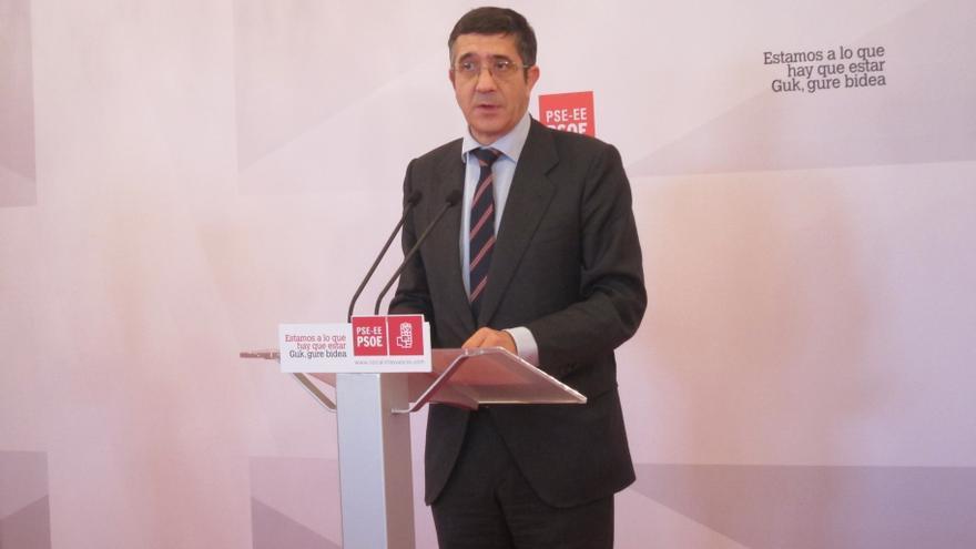 """López dice que el PNV """"aún no ha satisfecho ninguna de las condiciones del PSE para el acuerdo"""""""
