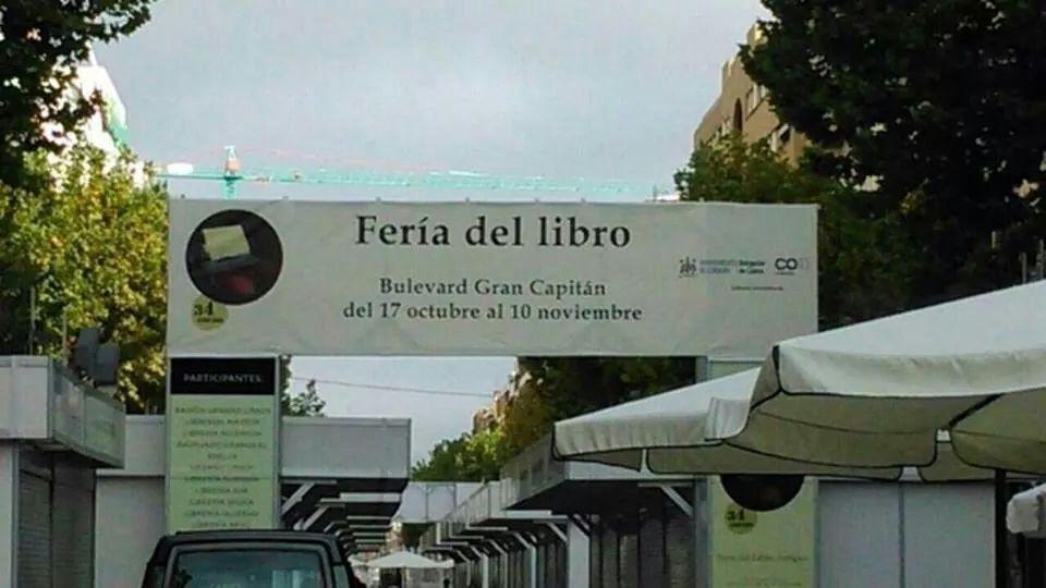 Faltas de ortografía en la Feria del Libro de Córdoba
