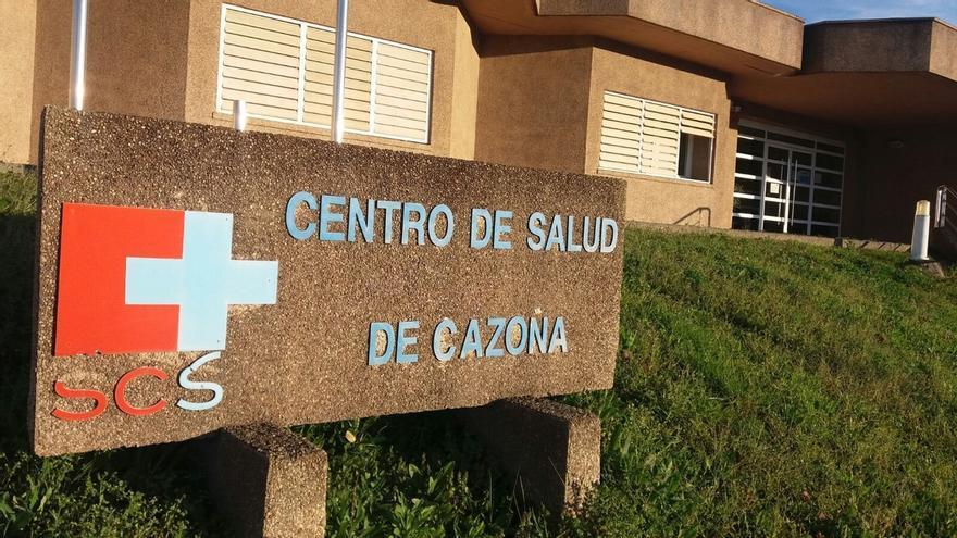 Exterior del Centro de Salud de Cazoña, en Santander.