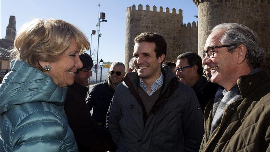 """Casado y Aguirre coinciden en que """"siempre hay que dar la cara"""""""