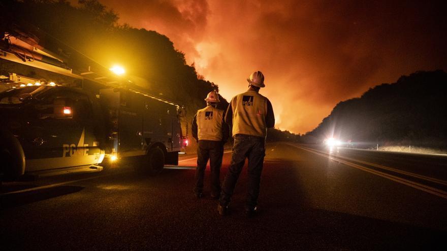 ¿Cómo ha llegado hasta Europa el humo de los incendios en California?