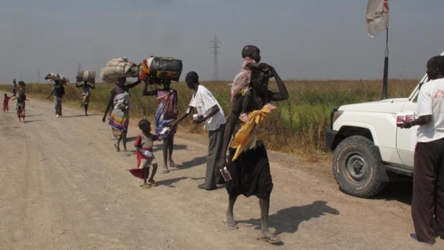 Leer, en Sudán, es una de las áreas prioritarias para MSF