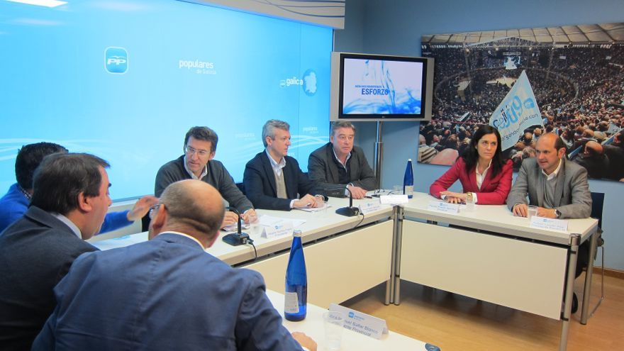 """Feijóo contrapone a una Galicia """"blindada"""" frente a """"otras comunidades que buscan destacar a través de la estridencia"""""""