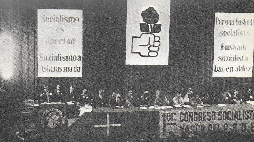 Primer congreso del PSE en 1977