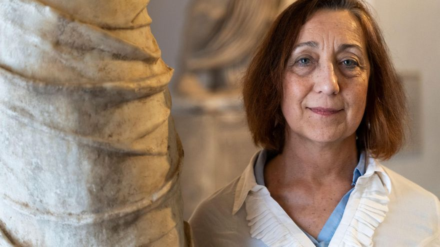 Magdalena Barril, directora del Museo de Cuenca, que acaba de jubilarse