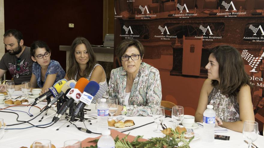 Rosa Peñalver, presidenta de la Asamblea Regional de Murcia