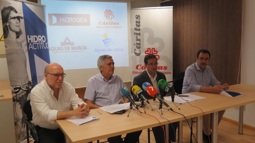 Rueda de prensa de presentación del convenio
