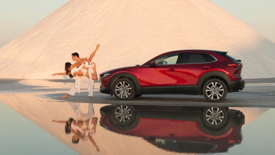 Imagen del corto 'Danza Kodo', de Mazda.