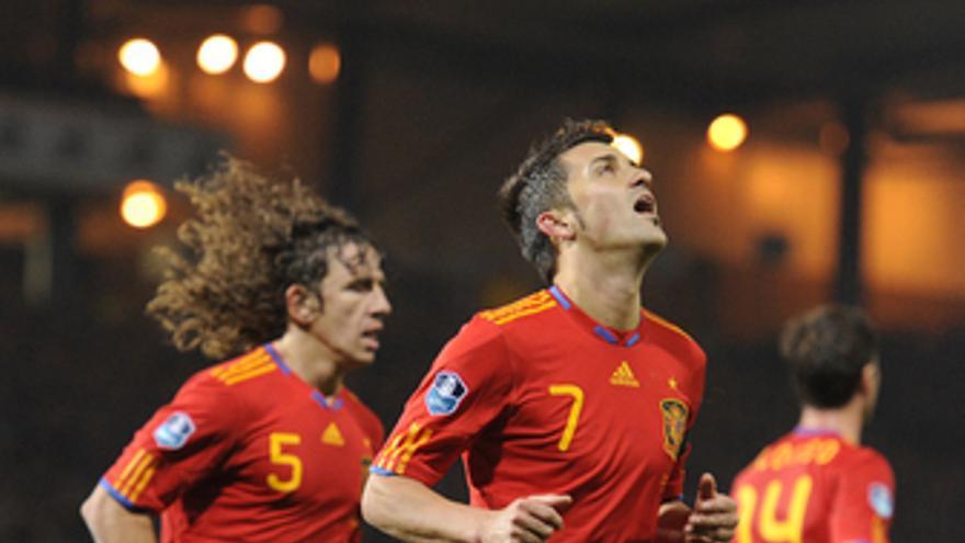 España contra Escocia