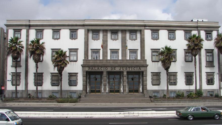 Palacio de Justicia en Las Palmas de Gran Canaria.