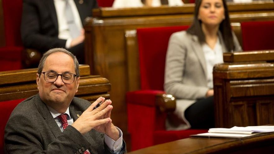 "Torra ve ""intolerable"" el déficit fiscal y el PP acusa al Govern de ""robar"""