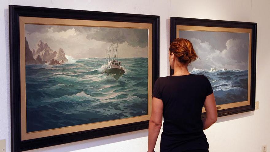 Exposición 'Marinas', de Esteban Arriaga.
