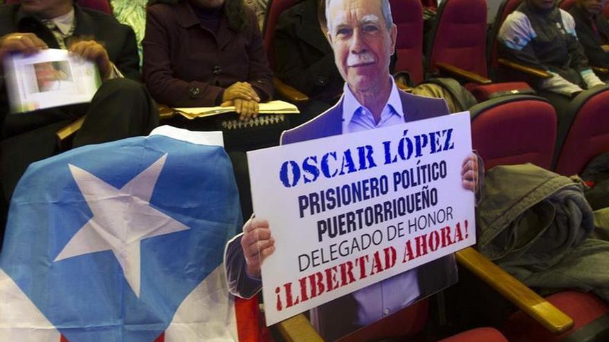 Convocan una marcha para exigir la excarcelación del independentista boricua Oscar López