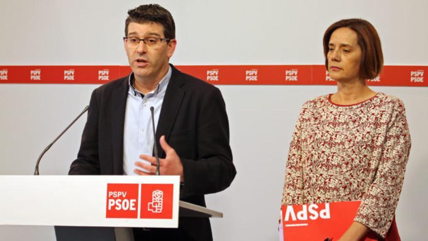 Jorge Rodríguez e Inma Sánchez han comparecido en rueda de prensa