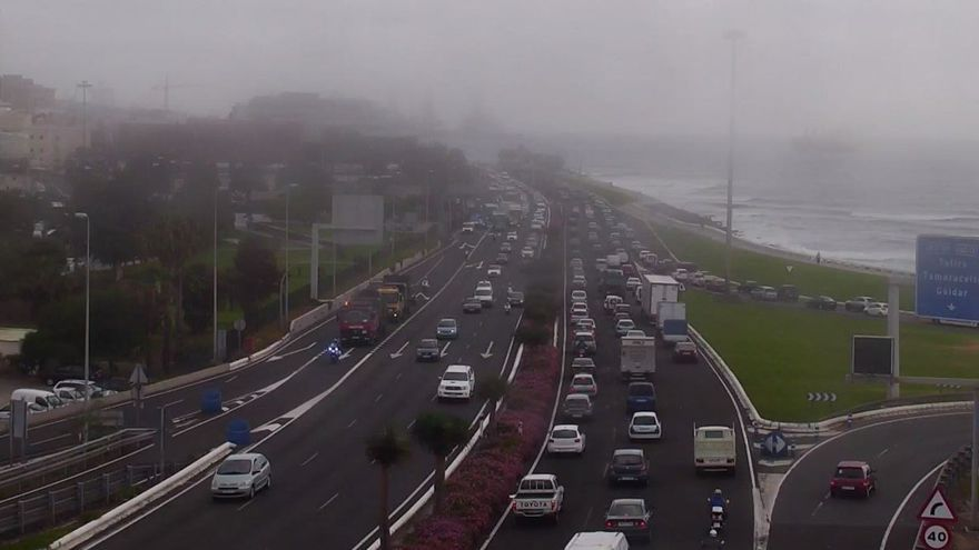 Avenida Marítima abierta al tráfico (@PoliciaLPA)