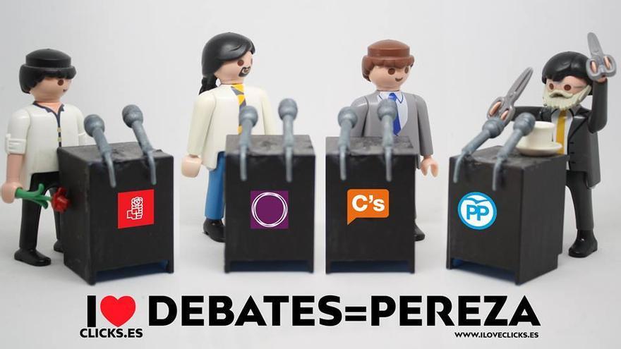 I love debates=pereza
