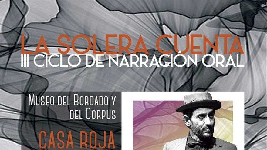 Cartel del ciclo 'La Solera Cuenta'.