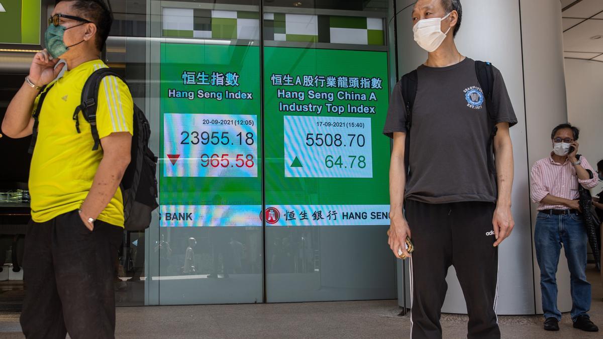 La inmobiliaria china Evergrande arrastra a las bolsas.