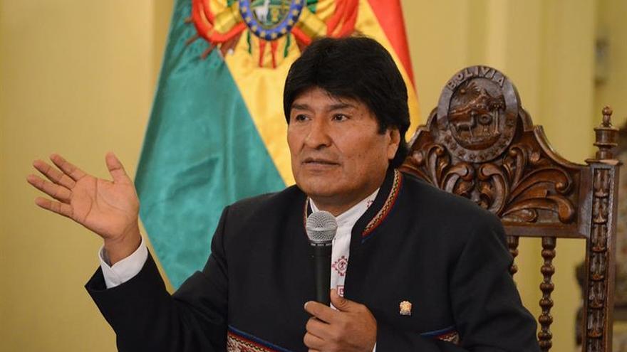 Evo Morales anuncia una nueva generación de ministros y cambios en el Parlamento