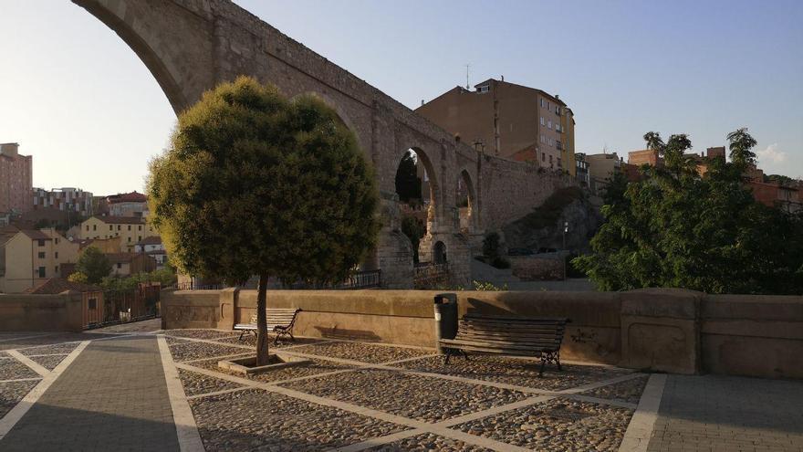 El centro de Teruel.