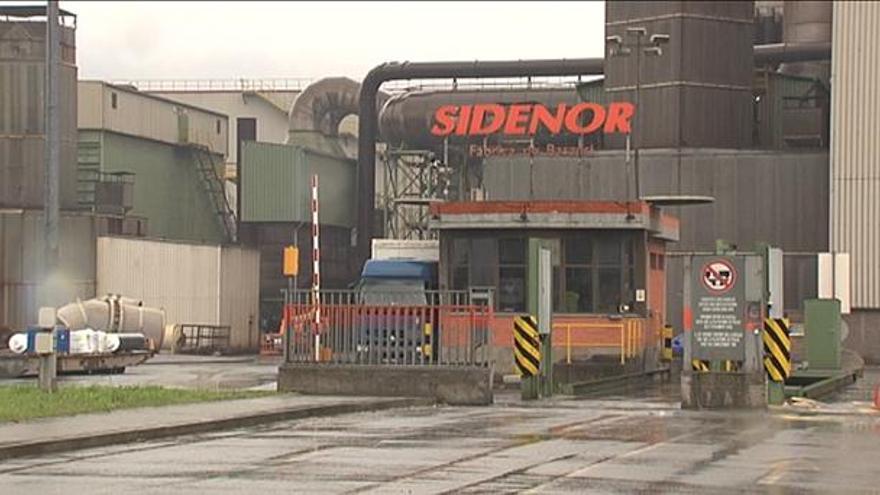Imagen de la factoría de Sidenor, en Basauri.