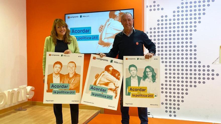 Joan Baldoví y Maria Josep Picó, candidatos de Més Compromís al Congreso por Valencia