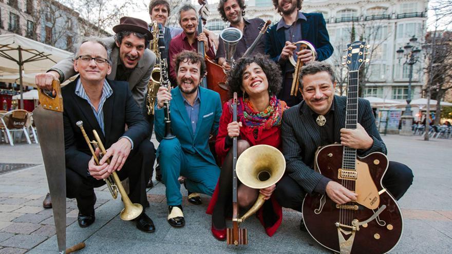 Mastretta en l ciclo los 'Raqueros del Jazz' de la calle Del Sol