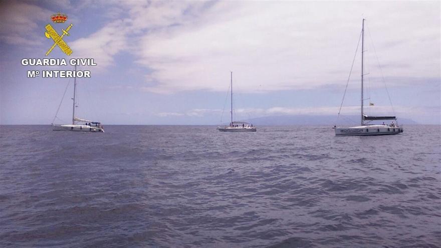 Embarcaciones en alta mar, en zonas de avistamiento