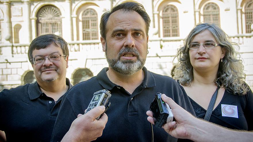 Javier Mateo, candidato de Ganemos-IU en Toledo