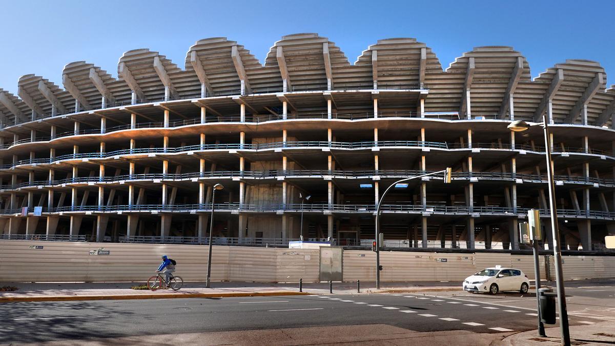 Situación del nuevo Mestalla.
