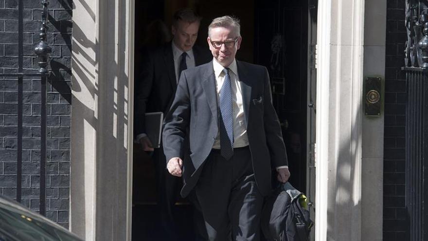 Michael Gove, ministro británico de Justicia.