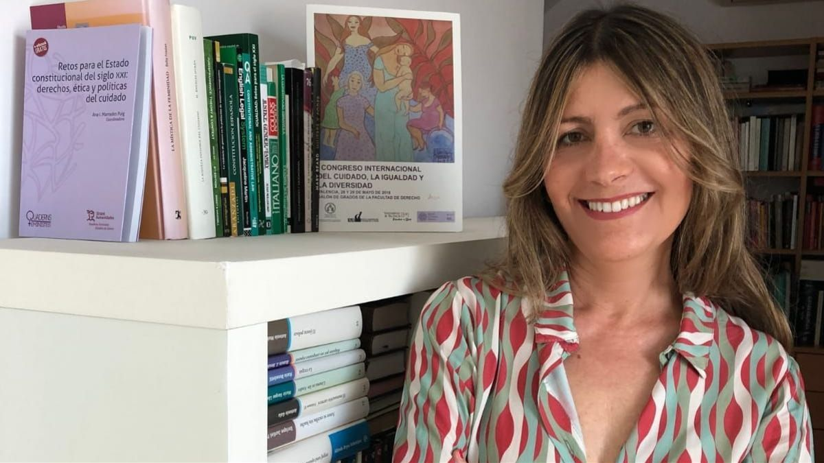 Ana Marrades, directora de la Cátedra de Economía Feminista de la UV.