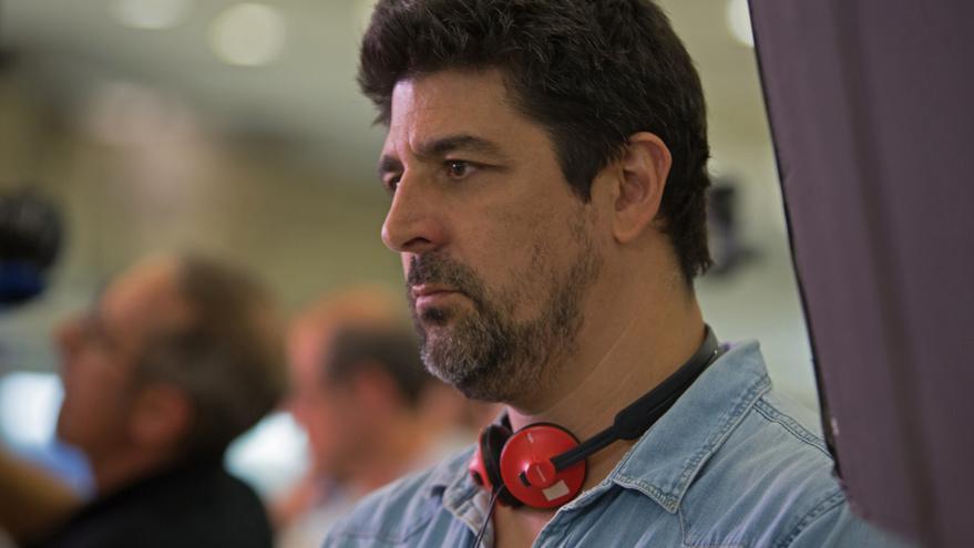 El director durante el rodaje de 'Truman'