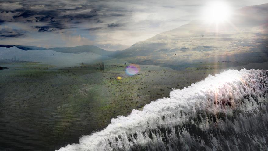 ' The Wave', de Soyoon Hia Cha, un 'collage' de fotos