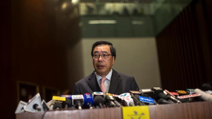 El Supremo fuerza a dos independentistas a dejar el Parlamento de Hong Kong