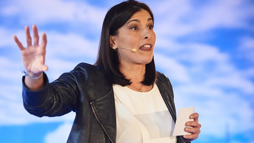 La alcaldesa de Santander, Gema Igual (PP).   JUANMA SERRANO/ARCHIVO