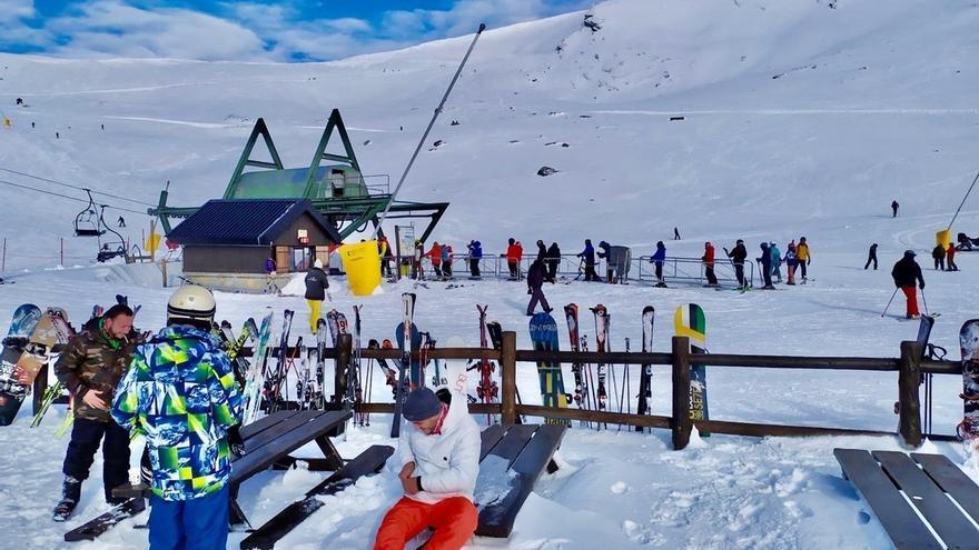 Alto Campoo roza los 30.000 visitantes en los primeros 50 días de la temporada