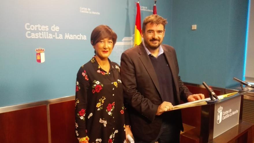 Rafael Esteban y Pilar Callado FOTO: PSOE Castilla-La Mancha