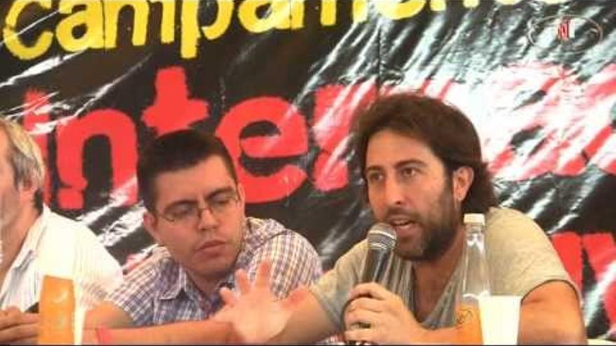 Jesús Rodríguez, de Izquierda Anticapitalista en Andalucía.