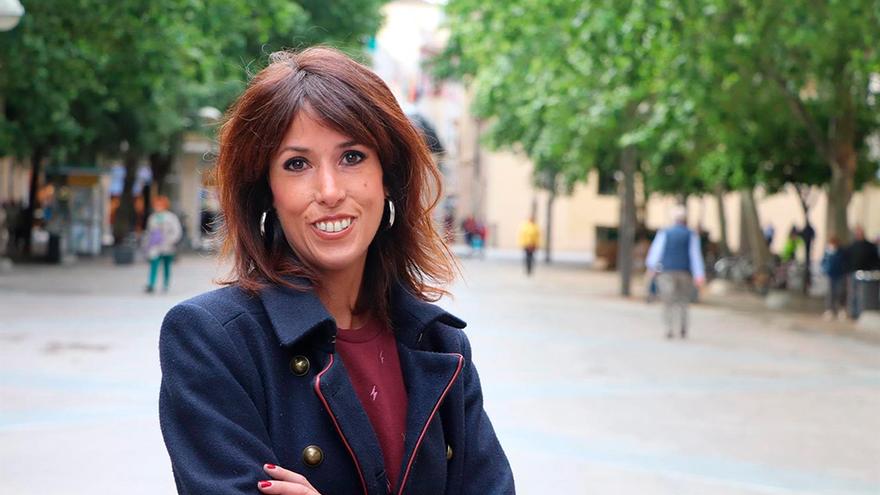 La diputada de Podemos por Córdoba y líder de Podemos Andalucía, Martina Velarde.