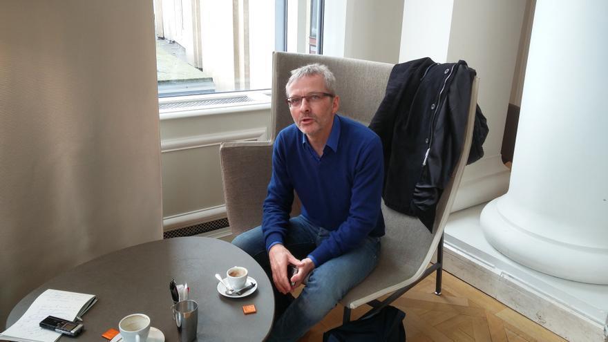 Edouard Delruelle, profesor de Filosofía Política en la Universidad de Lieja.
