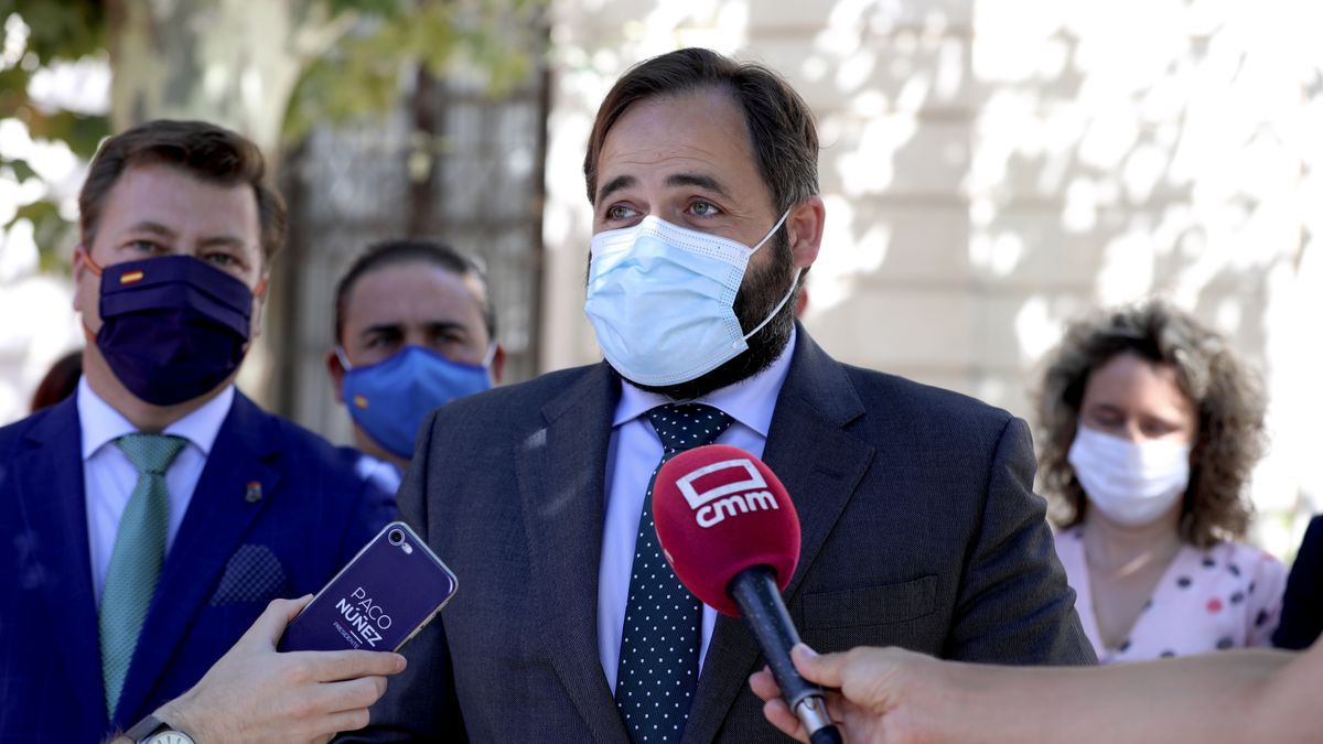 Paco Núñez, presidente del PP en Castilla-La Mancha en Santa Olalla (Toledo)