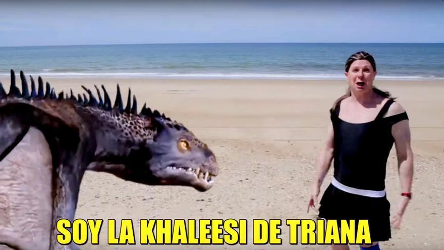Los Morancos convierten a la Pantoja en la Khaleesi de 'Supervivientes'