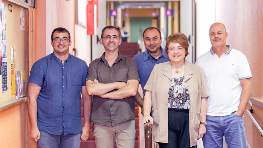 Investigadores de la ULL y del Instituto de Productos Naturales y Agrobiología del CSIC que desarrollaron el producto