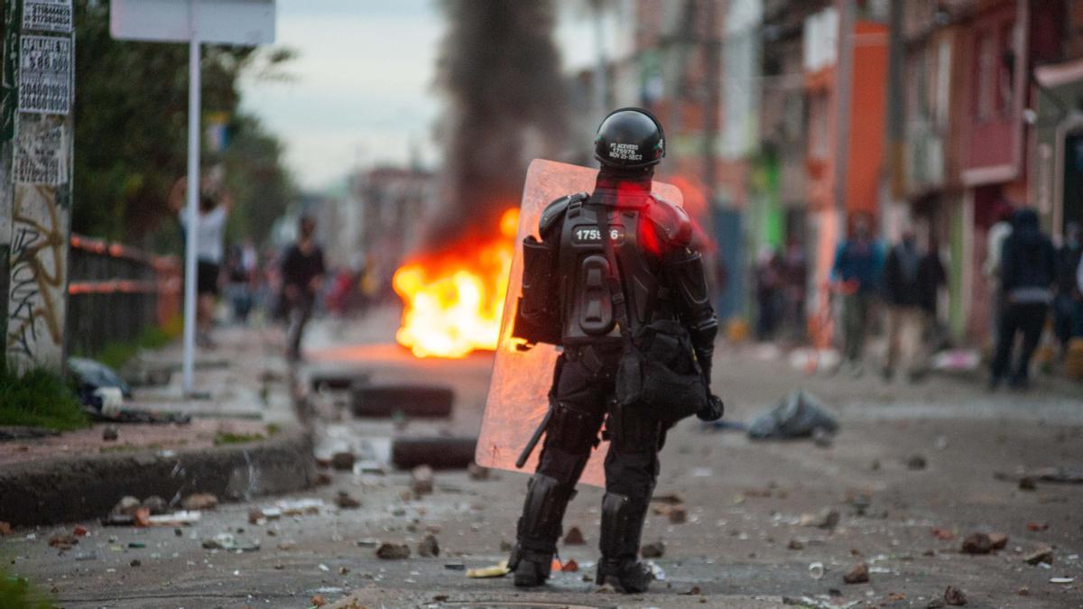 Mueren 24 manifestantes en una semana durante las protestas en Colombia