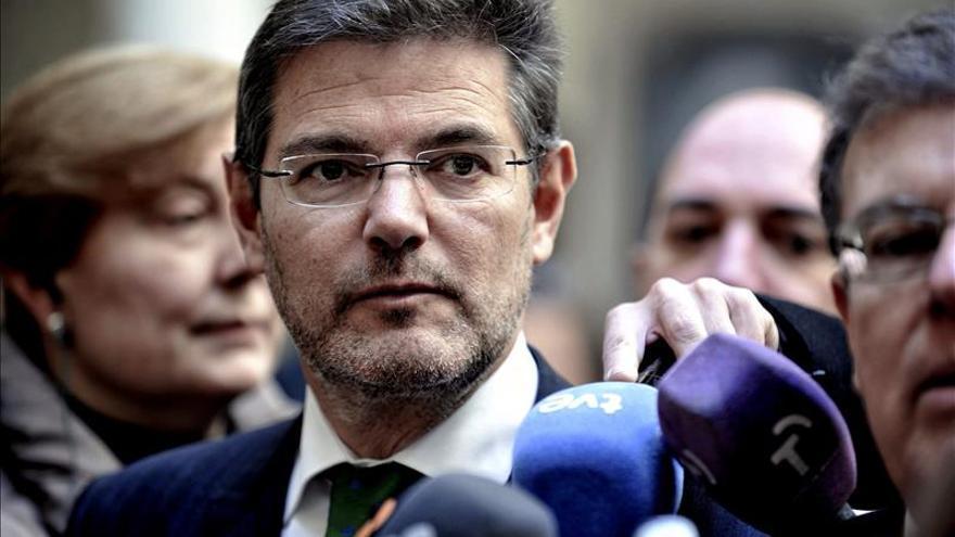 Catalá dice que no hay temas judiciales que impidan a González ser candidato