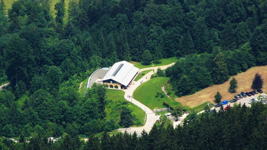 Imagen aérea del Dokumentation Obersalzberg.